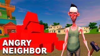 Нашел ВОЛШЕБНЫЕ КУБЫ и Открыл НОВЫЕ КОМНАТЫ Злого СОСЕДА! Игра Angry Neighbor от Cool GAMES