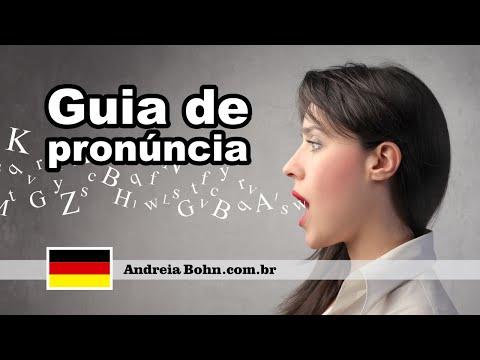 Alemão - Guia de pronúncia - Microaula
