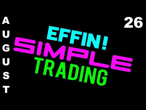 8/26/16 Trades on Display – eMini NASDAQ (NQ) – Futures Day Trading // EffinSimpleTrading