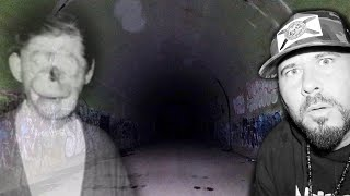 The Haunted Charlie NO FACE Tunnel Aka Green Man Tunnel | OmarGoshTV