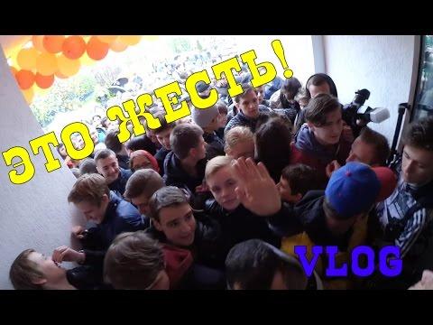 VLOG: Открытие Texas Chicken в Минске, концерт ХЛЕБ и футбол