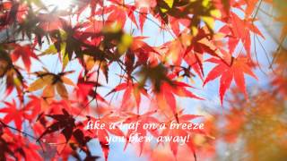 Forever Autumn ~ Justin Hayward  Lyrics, Hd, Hq