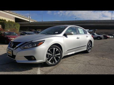 2016 Nissan Altima 2.5 SR In Depth & Test Drive Feature Walkthrough