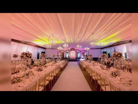 How to decorate a reception hall for a wedding dekor