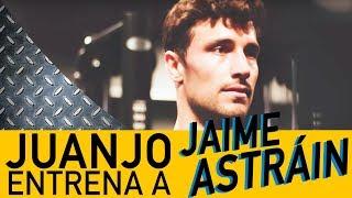 Jaime Astráin ENTRENA con Juanjo un CIRCUITO de ejercicios de HOMBRO