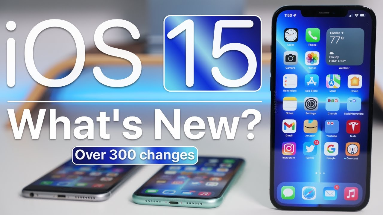 iOS 15 is Out  Whats New