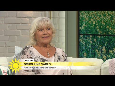 Christina Schollin om att vara influencer vid 80: Jag fick googla vad en sådan   Nyhetsmorgon TV4