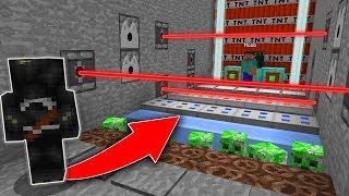 LA MORT EST ARRIVÉE DE L'AUTRE COTÉ POUR TUER LE NOOB - Minecraft