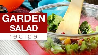 How To Make A Fresh Garden Salad?