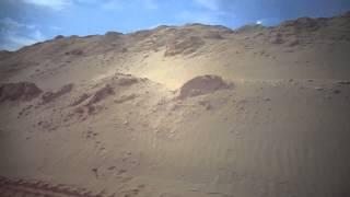 قناة السويس الجددة : مشهد عام للحفر وجسوررمال  الحفر20يناير2015