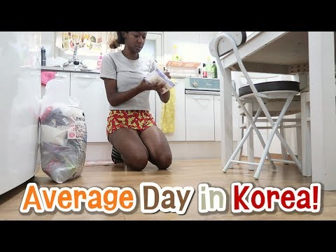 Average Day in Korea for ME! :) (IRL vlog #2)