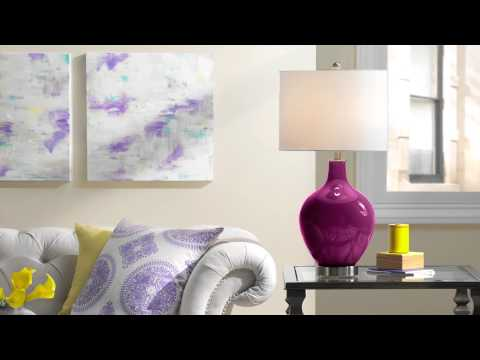 Decorating with Color - Living Room Design Ideas from Lamps Plus
