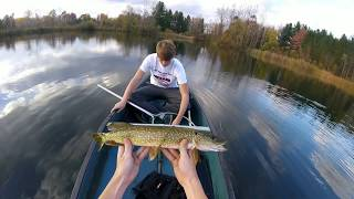 Fall Pike Fike Fishing in Michigan