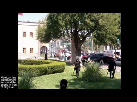 Car bombing outside Nuevo Laredo City Hall