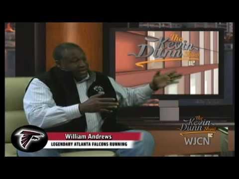 Bobby Bowden Florida State & William Andrews Atlanta Falcons