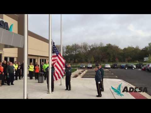 ADESA Chicago Flag-Raising Ceremony