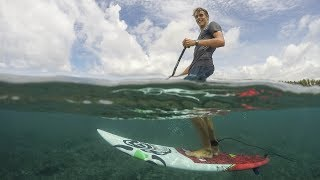 Video SUP Surfing Progression: How To Ride a Low Volume board download MP3, 3GP, MP4, WEBM, AVI, FLV Juli 2018