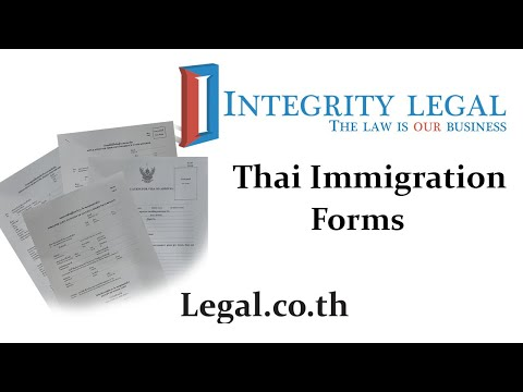 The TM8 Thai Re-Entry Permit Application Form in 2021