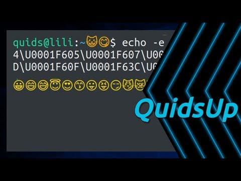 Emojis In Linux Terminal