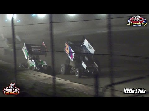 Highlights: Sprint Cars of New England at Legion Speedway 9 9 2016