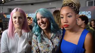 Entrevista a Sweet California - Cena Los 40 Music Awards