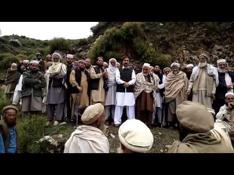 Shah husain khan jui mpa allai speach at anuguration ceremony of repairing sijbiar road