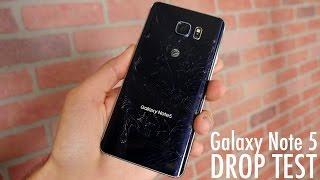 Watch Galaxy Note 5 Drop Tes - 5 فيديو: اختبار السقوط لهاتف نوت