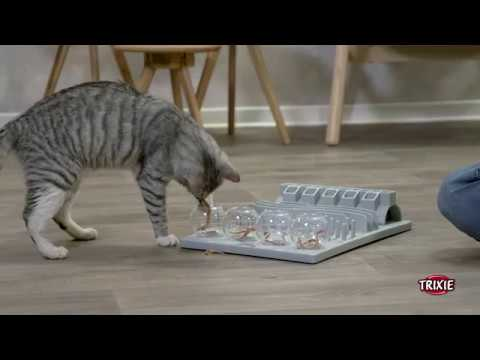 TRIXIE Heimtierbedarf - Cat Activity Strategisch Spel Fun Board