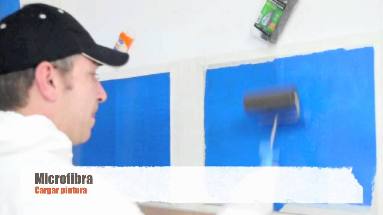 Como Pintar Con Rodillo Y Conseguir Un Acabado Perfecto Vari2 Youtube