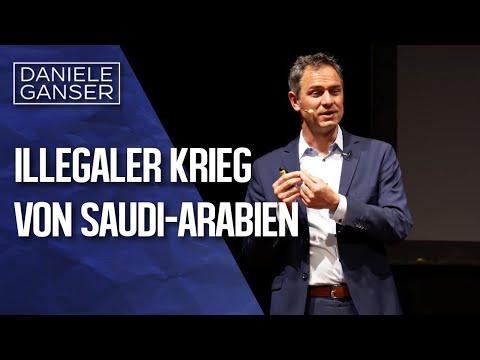 Dr. Daniele Ganser: Der Illegale Krieg Von Saudi-Arabien Gegen Jemen 2015 (Offenbach 2.4.2019)
