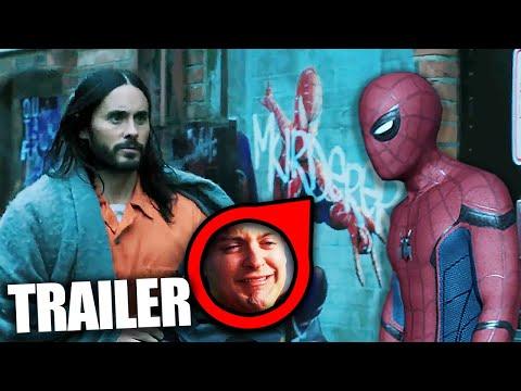 Spider-Man, Venom und Co. sind fester Teil des MCU's! - Morbius Trailer Analyse