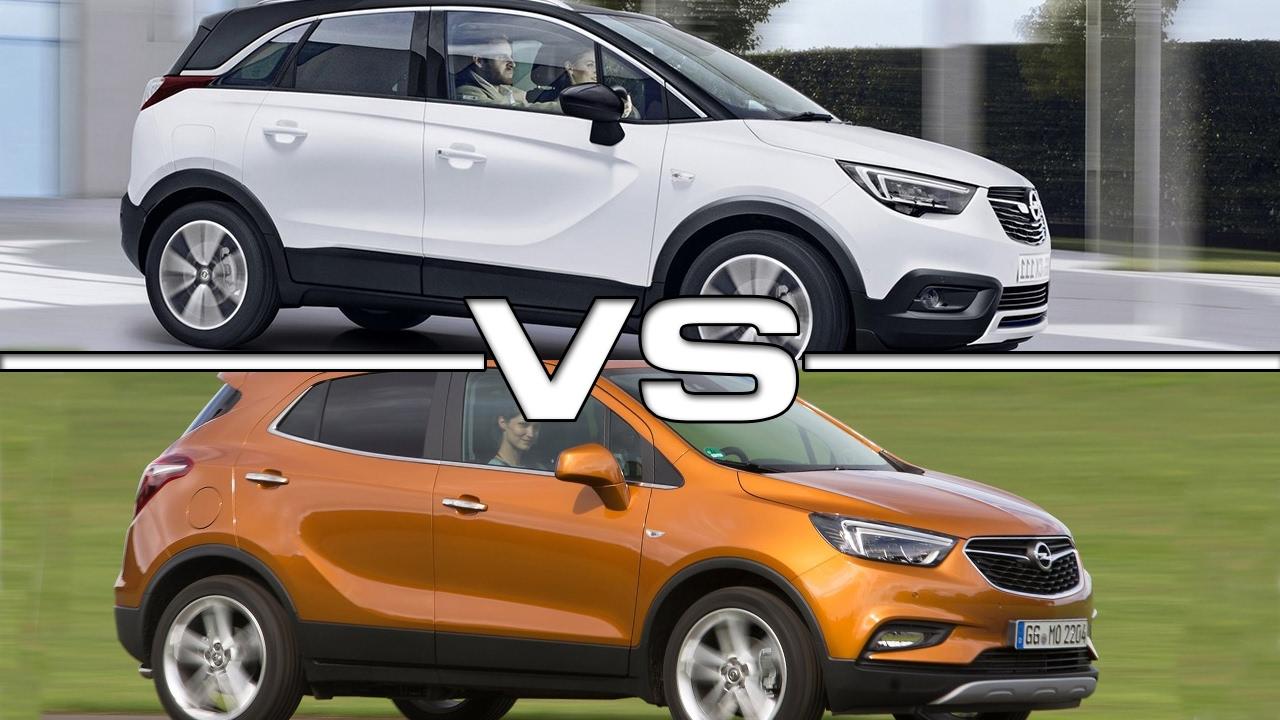 2018 Opel Crossland X Vs 2016 Opel Mokka X Youtube