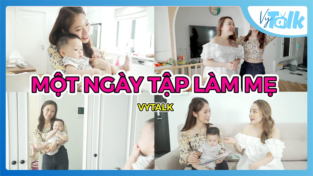 Being a mom is hard | Beauty Blogger Trinh Pham và bé Bơ iu | VyTalk Ep.8 English