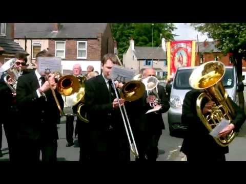 Tyldesley Brass Band Bag Lane March performing Slaidburn