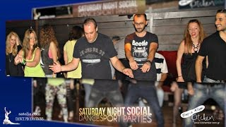 Saturday Night Social Dancesport Parties @Kitchen Bar Alimos OFFICIAL PROMO!