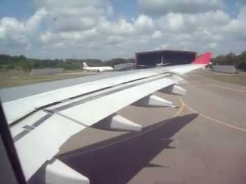 Sri Lankan Airlines Airbus A340 UL504 Departing Colombo