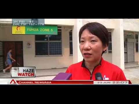 Grace Fu reiterates importance of 24 hour PSI reading - 22Jun2013