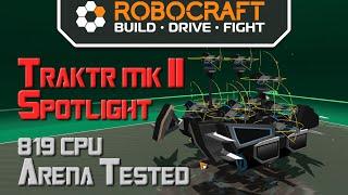 Robocraft Bot Spotlight - Traktr MK II