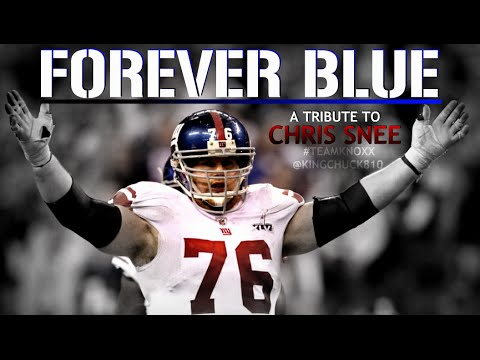 Forever Blue: A Tribute To Chris Snee