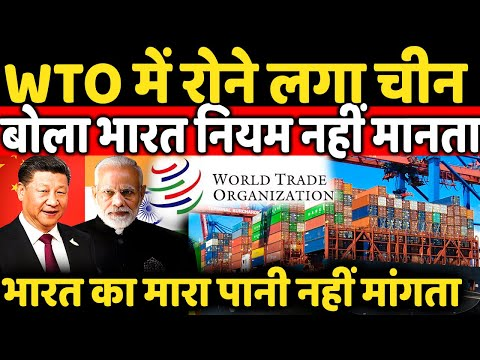 China accuses India during a meeting at the World Trade Organisation On Trade And Apps Ban ?