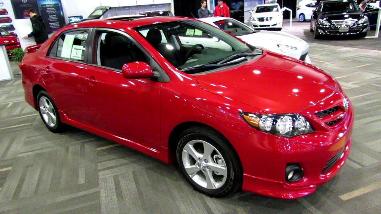 2013 Toyota Corolla S Exterior And Interior Walkaround