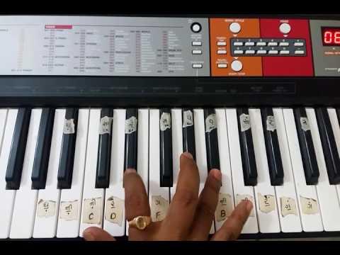 Learn Teri Ladaki . Piano tutorial.. Kirtidan Gadhvi