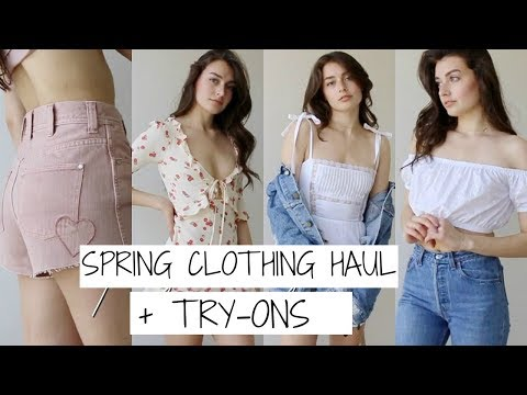 Spring Clothing Haul + Announcement! | Jessica Clements