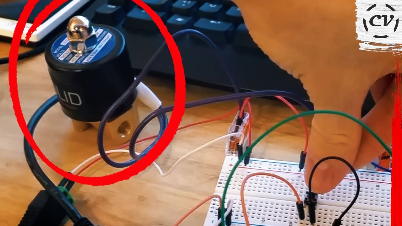 How To Actuate A Solenoid Valve With Arduino Uno Tutorial Code Circuit Control 1 Cylinder 2 Valves Using