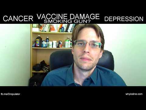 A smoking gun for Vaccine Damage, Cancer, Depression, etc?