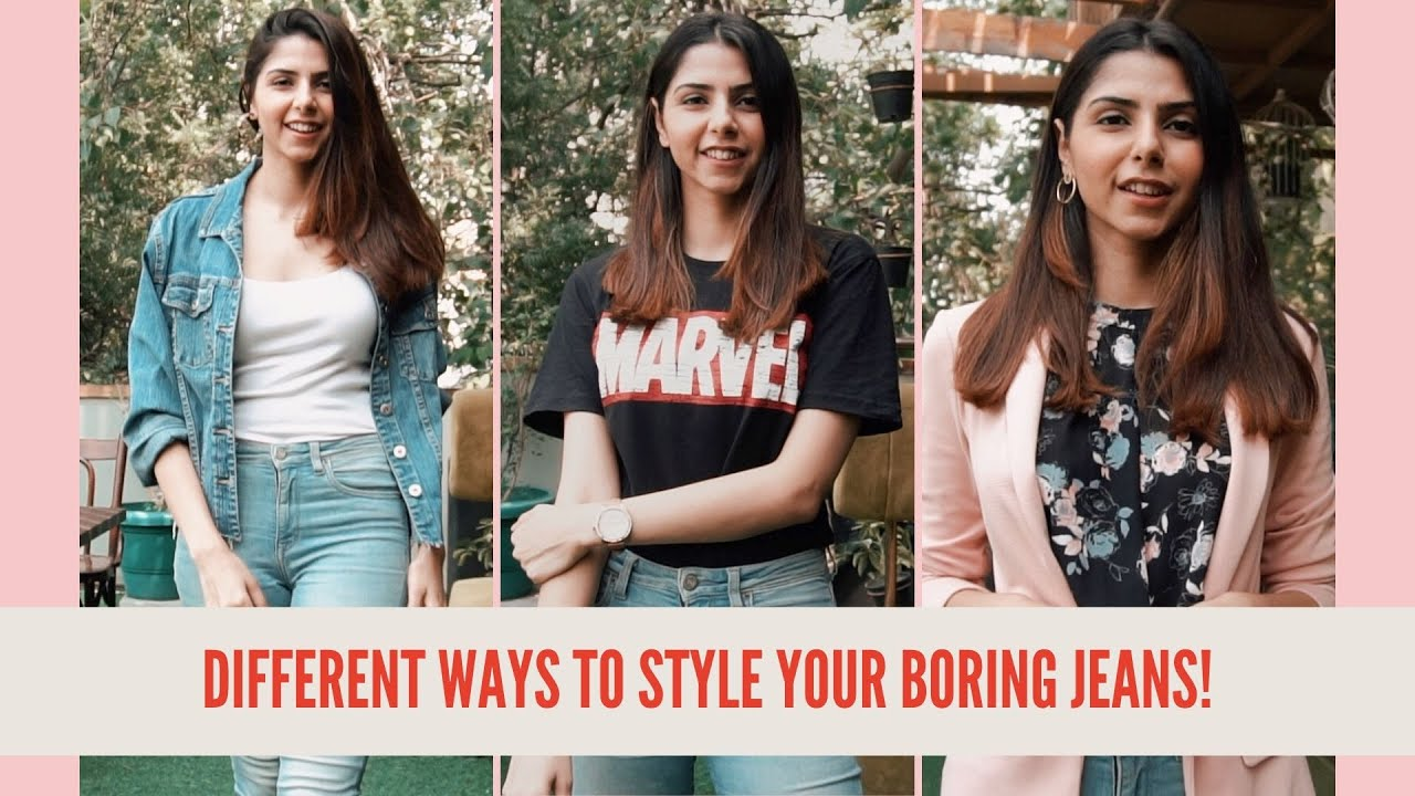 ONE Jeans SIX Ways | How To Style Jeans