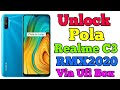 Unlock Pola/Password/Pin+ FRP Realme C3 RMX2020 Via Ufi Box