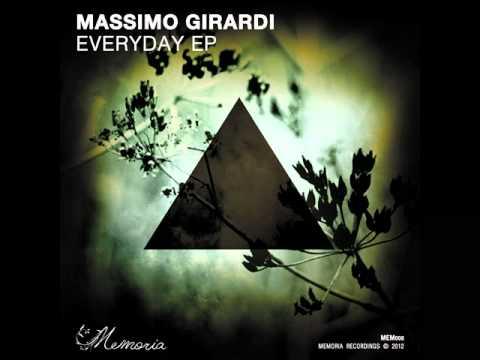 Massimo Girardi - Everyday EP [Memoria recordings]
