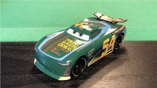 Mattel Disney Cars 3 2017 Herb Curbler #54 Faux Wheel Drive Next-Gen Die-cast Review