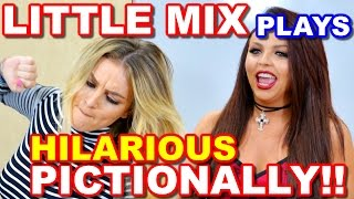 LITTLE MIX Plays PICTIONARY and It